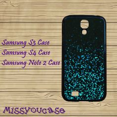 Samsung Galaxy Note 3,Samsung galaxy S3,Samsung galaxy S4,Samsung Galaxy Note 2,cute Samsung S4 Case,Mint Sparkle Glitter,cool S4 case. by Missyoucase, $14.95