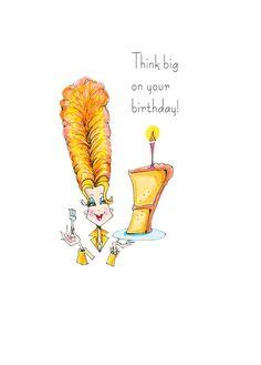 Funny Birthday Card funny birthday card for her birthday image 2 Happy Birthday Wishes For Her, Happy Birthday Clip Art, Birthday Cartoon, Happy Birthday Girls, Birthday Cards For Women, Singing Happy Birthday, Happy Birthday Quotes, Women Birthday, Art Birthday