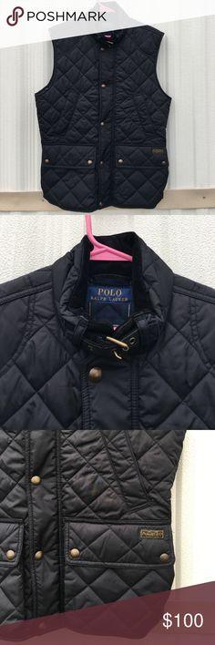 "Polo Ralph Lauren Blue Label Puffer Vest Size S Polo Ralph Lauren Blue Label Puffer Vest Size Small 20"" Underarm 28"" Length Polo by Ralph Lauren Jackets & Coats Puffers"
