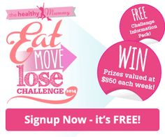 Eat Move Lose Challenge Signs Ups NOW OPEN - it is FREE