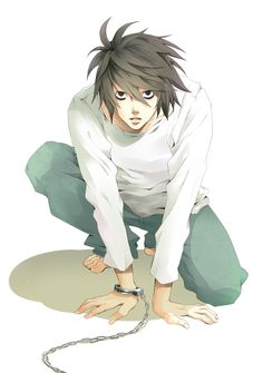 Intelligent, Secretive, Just, Knows Capoeira and has my old thick Black Hair.....Greatest Detective in the World, L Lawliet