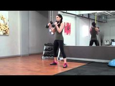 Squats w/ Hammer Curl and Reverse/Forward Jumps