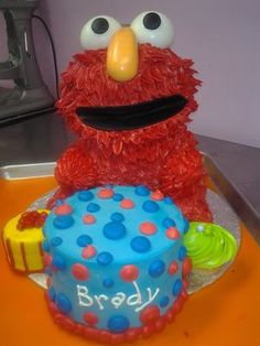 Elmo Cake by Frost Dessert Shoppe in Baden ON