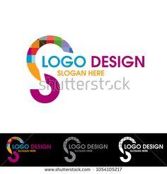 S Letter Colorful Logo Design Template Vector EPS File