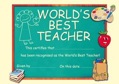 World Teacher's Day means we as teachers are recognized for our hard work and guidance for our children! World Teacher Day, World Teachers, Happy Teachers Day, Teacher Favorite Things, Best Teacher, School Teacher, Teachers Day Pictures, On This Date, Wish Quotes