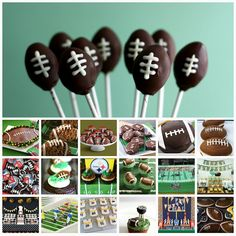 Great ideas for Football snacks!!!