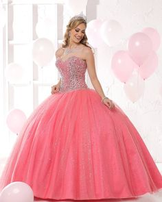 Dreaming of colorful days in Style 80320 made from Watermelon Tulle! Glittery skirts are Everywhere this Season! www.qbydavinci.com
