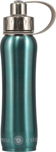New Wave Enviro Stainless Steel 20 oz Bottle Metallic Seafoam Green -- 1 Bottle - Vitacost