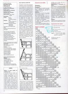bieżnik - Her Crochet Crochet Table Runner Pattern, Crochet Snowflake Pattern, Crochet Tablecloth, Crochet Patterns, Filet Crochet, Crochet Diagram, Thread Crochet, Crochet Dollies, Online Diary