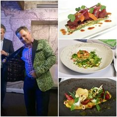 Paul Da Costa Greaves, UK sales for Koppert Cress, shows off his cress-adorned jacket. The Koppert Cress partnership will enable guests to indulge in fresh microgreens grown onboard in the Culinary Arts Center while enjoying a farm-to-table-style menu for dinner.