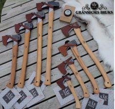 Gränsfors axes from Sweden
