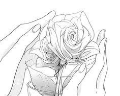 Resultado de imagen para anime love black and white