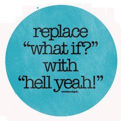 Positive Affirmation...