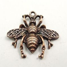 *10pcs Lovely Bee Shape Vintage Copper Alloy Charms Pendant Crafts Finding 31772