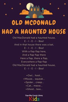 great action song for the Halloween season!, A great action song for the Halloween season! Theme Halloween, Halloween Games, Halloween Season, Halloween Music For Kids, Spooky Halloween, Halloween Teacher Gifts, Happy Halloween, Halloween Decorations, Activities For Kids
