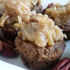 German Chocolate Cake Cookie Cups