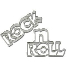 German Made Cookie Cutters - Cookie Cutter Rock N Roll Stainless Steel
