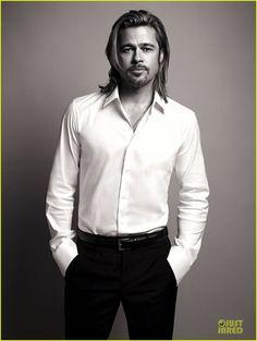 Brad Pitt - Chanel No. 5 fragrance ad campaign