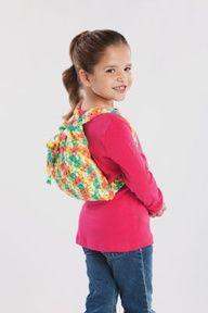 Braid Backpack #Crochet