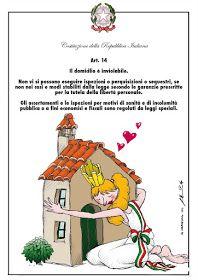 FANY - BLOG: La Costituzione italiana ( Principi fondamentali) Back To School, Blog, Character, Veronica, Art, Geography, Art Background, First Day Of School, Kunst