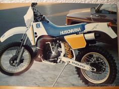 1987 Husqvarna WR 250. My First Real Endoro Bike!