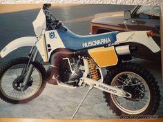 1987 Husqvarna WR 250. My First Real Endoro Bike!