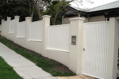 Wrought Iron Fencing Gate Mailbox Fence Options