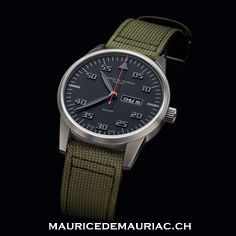 Elegant watch from Swiss watchmaker #mauricedemauriac #watches #watchesformen