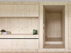 Maison en bois pour Julia et Björn en Autriche par les architectes d'Innauer-Matt - Journal du Design