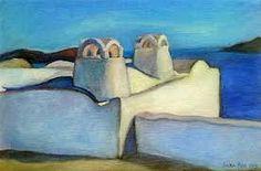 Image result for santorini art Paros, Greek Islands, Santorini, Painters, Greece, Image, Greek Isles, Greece Country, Santorini Caldera