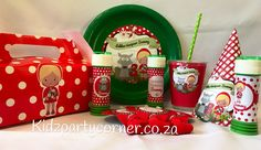 Little Red Riding Hood Theme supplies, favours and decor. We design and create any theme for any occasion and age customised according to your specifications. Door to door courier country wide at affordable prices - unique and convenient. Styling and set-up packages available in Pretoria and Johannesburg at you own venue. Visit our website www.kidzpartycorner.co.za or email Info@kidzpartycorner.co.za for more details