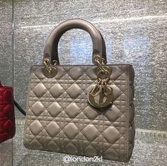 Gorgeous Medium Lady Dior Bag in Grey RM15,950