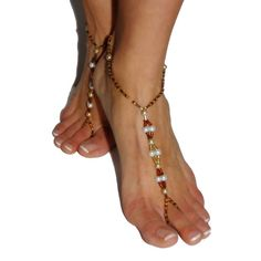Items similar to Barefoot Sandals - Pearl Playgirl on Etsy Bare Foot Sandals, Barefoot, Pearls, Trending Outfits, Unique Jewelry, Handmade Gifts, Clothes, Etsy, Vintage