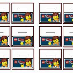 The Lego Movie name tag free printable