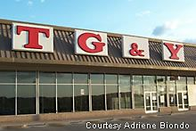 TG&Y; -remember they sold the colored baby chicks??