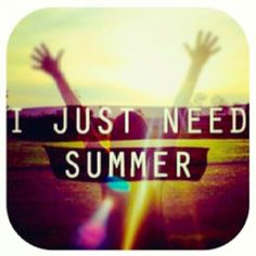 My love for summer will never end
