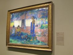 Why Are You Angry, Paul Gauguin, 1896, oil on canvas, Art Institute of Chicago. Uh, maybe because of lying, cheating, wife-stealing colonization.