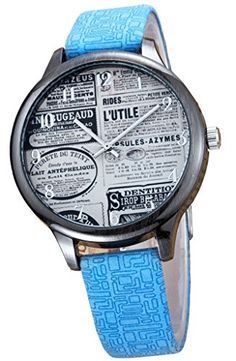 Kezzi Unisex K1146 Fashion Casual Newspaper Dial Quartz Analog Blue Leather Wrist Watch Kezzi http://www.amazon.com/dp/B012BZU9W0/ref=cm_sw_r_pi_dp_wfkSvb0TH84GB