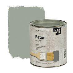 KARWEI betonverf zijdeglans grijs 750 ml | Betonverf | Speciaalverven | Verf & verfbenodigdheden | KARWEI