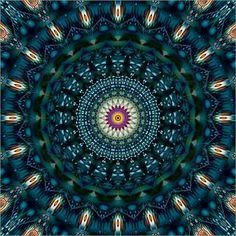 10 % RABATT auf das gesamte Sortiment! Code: PLCYBER2016 – gültig bis 28.11.2016 Poster Mandala blaues Licht Nr. 2