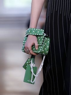 Valentino Resort 2018, bolso verde