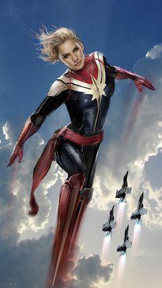 Captain Marvel by John Gallagher #KateeSackoff #YesPlease #Outstanding!