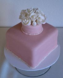 pink and white Wedding Cakes, Desserts, Pink, Food, Wedding Gown Cakes, Tailgate Desserts, Deserts, Wedding Cake, Eten