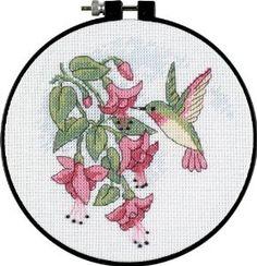 Hummingbird Cross Stitch Kits | arts crafts sewing needlework cross stitch counted kits