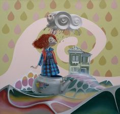 Pintura do artista plástico brasileiro Edu Cardoso