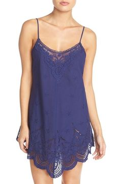 In Bloom by Jonquil Eyelet Cotton Chemise available at #Nordstrom