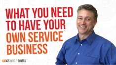 """What All Does It Take To Run Your Successful Service Business? 💰 In Today's """"Chris P. Bombs"""" Episode, Learn All About How Much It Really Takes To Make Your Service Business Successful! Growing Your Business, Successful Business, Relationship Marketing, Startup Entrepreneur, Finance, Learning, Videos, Youtube, Mens Tops"""