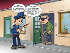 #politie aan de deur! Volgens de gegevens reed u afgelopen maandag met 140 km/u door een 30 km zone !