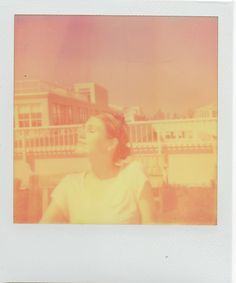 A few weeks ago I took my polaroid up to the roof! It was VERY sunny and warm out. Sunny Days, Sunnies, Polaroid Film, Photography, Color, Photograph, Sunglasses, Fotografie, Colour