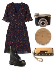 """""""Untitled #124"""" by groovygangsta on Polyvore featuring Madewell and Dr. Martens"""